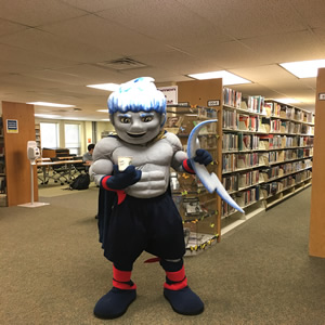 Photo of Storm TCC's mascot