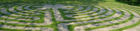 Jessica's Labyrinth, dedicated to Jessica Grimes Davant (photo credit: [attrib. Matthew B. Little])
