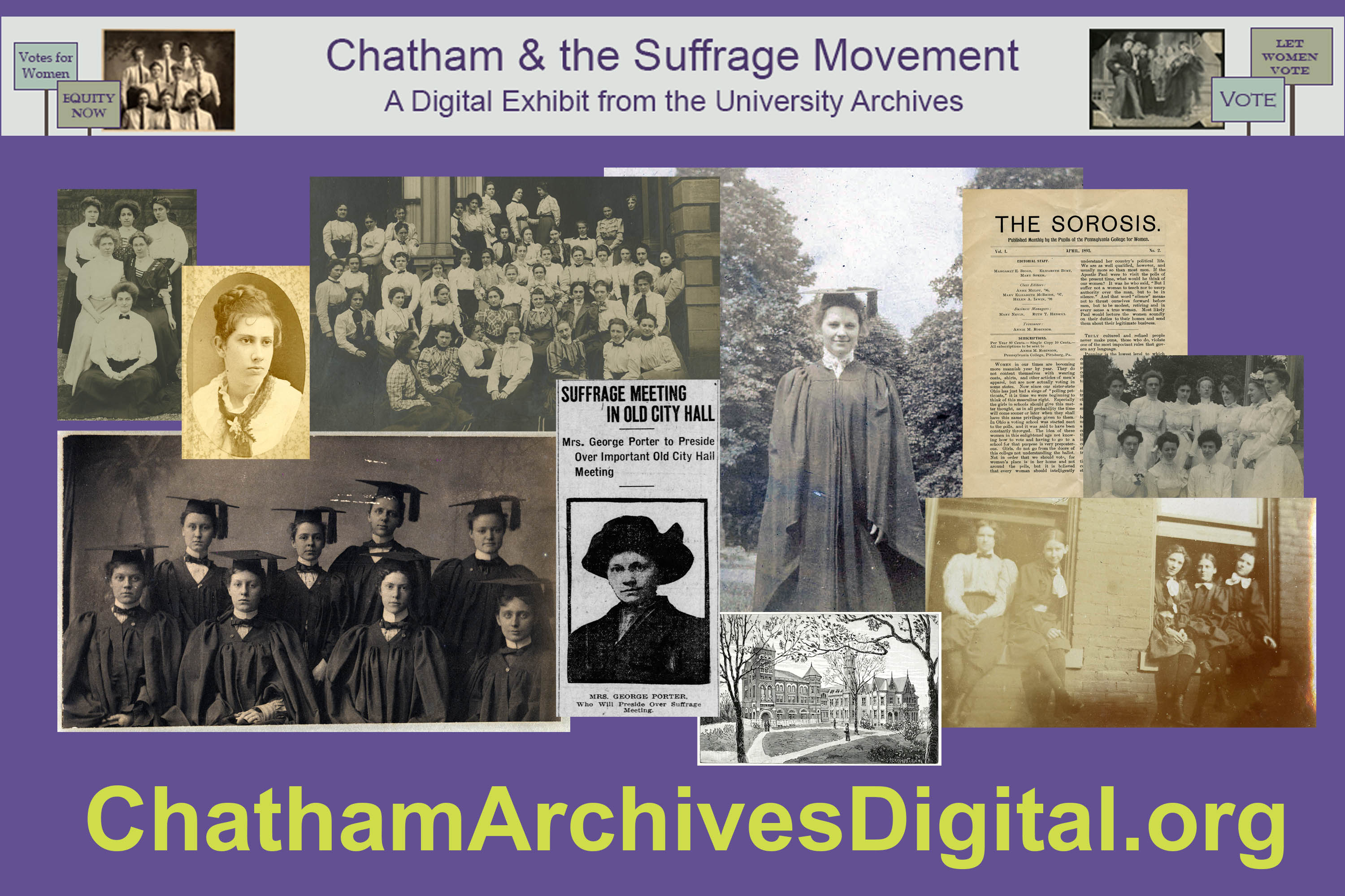 Visit the Chatham Archives Digital site