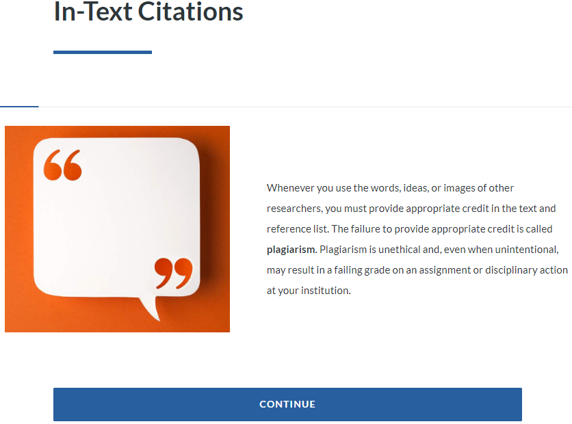 Intext Citations