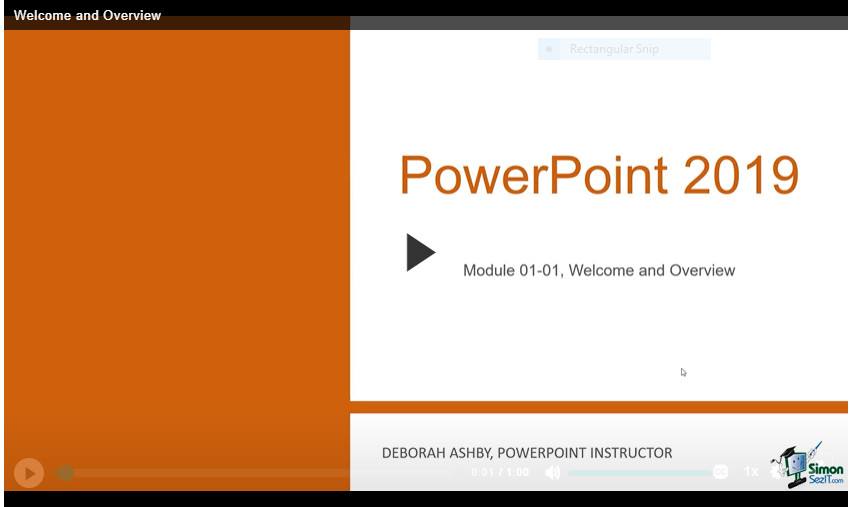 Microsoft PowerPoint Video