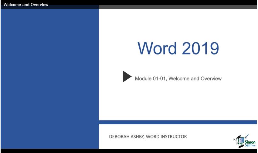 Microsost Word Video