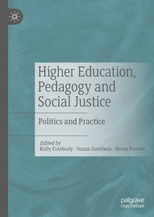 Book cover HIiher Education, Pedagogy, and social justice