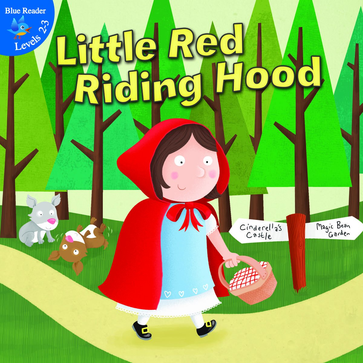 Cover art little red riding hood
