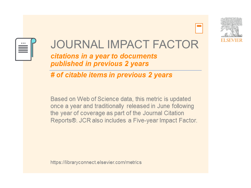 The Journal Impact Factor