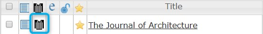 referee jumper icon next to title of journal in UlrichsWeb