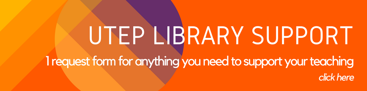 utep library support request form