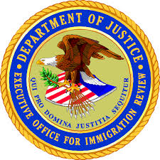 Executive Office of Immigration Review seal