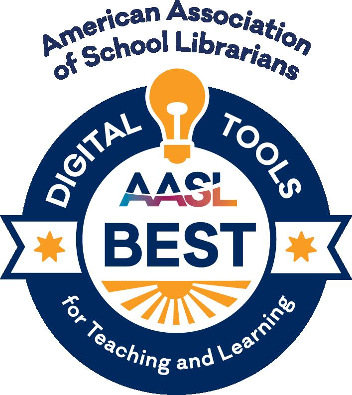 American Association of School Librarians Award Winning Websites logo