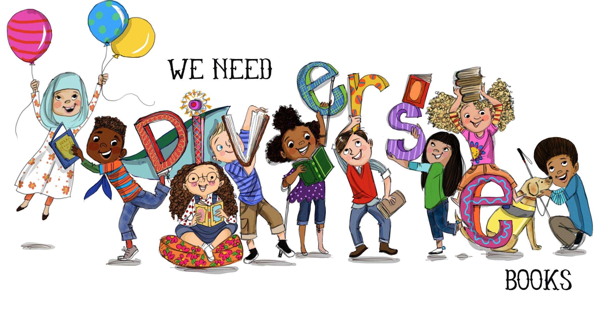 We Need Diverse Books Logo