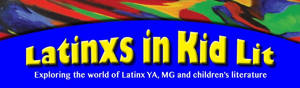 Latinx in kid lit logo