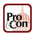 Pro&Con Logo on U.S. Capitol Bldg.
