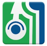 ebsco audio book app green and blue