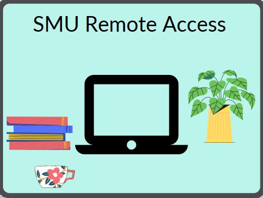 SMU remote access image
