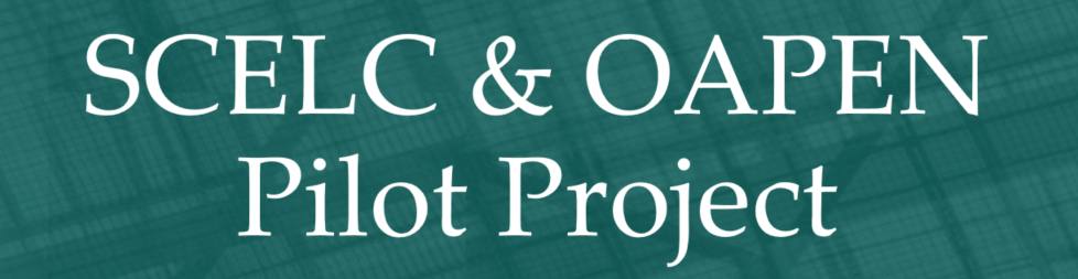 scelc and oapen pilot project page header