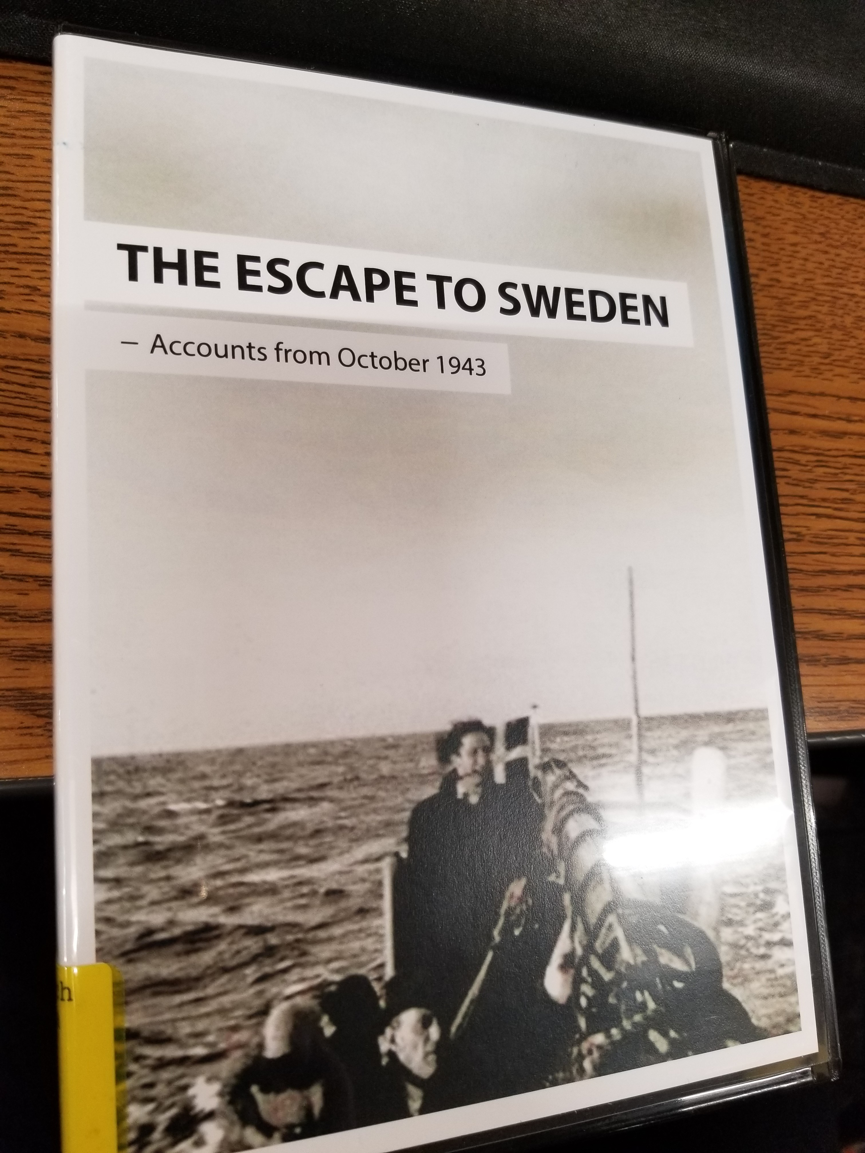 Escape to Sweden-Accounts from October 1943
