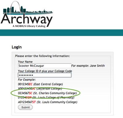 archway login