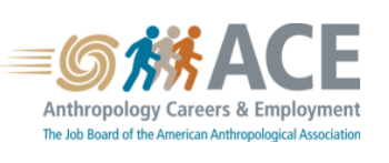 Anthropology Careers and Empoyment logo; the job board of the American Anthropological Association