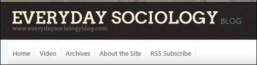 button for Everyday sociology blog