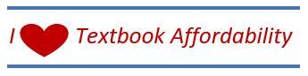 I heart Textbook Affordability