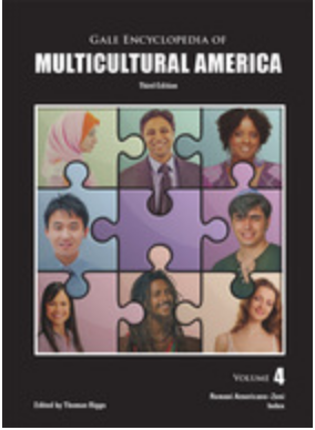 book cover for Gale Encyclopedia of Multicultural America