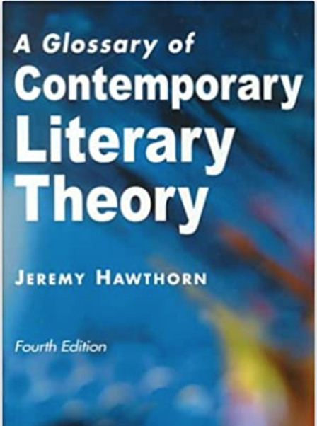book cover for Glossary of Contemporary Literary Theory