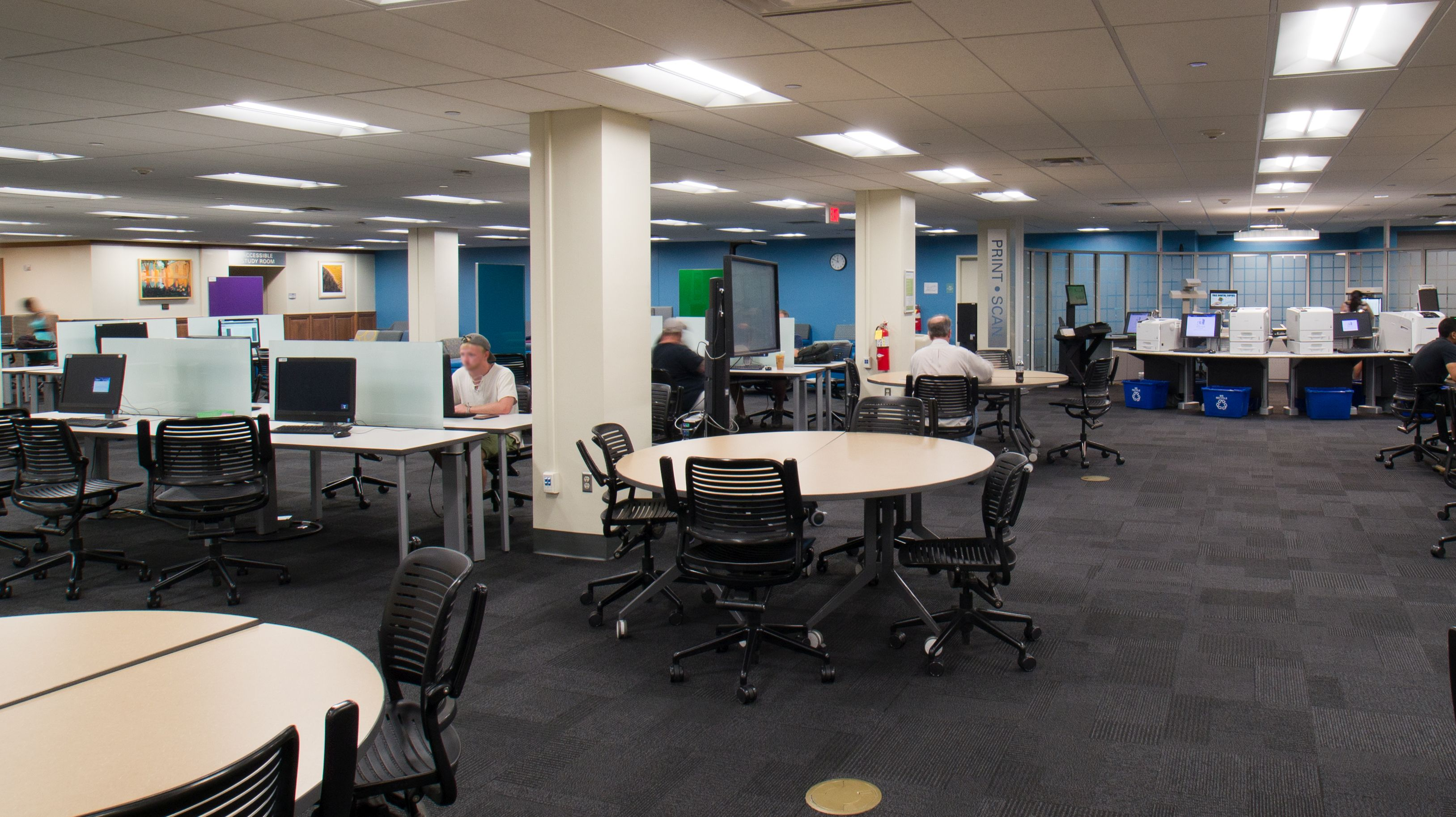 Zimmerman Library Learning Commons