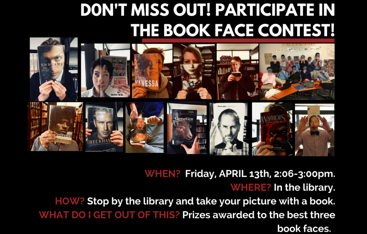 book face challenge