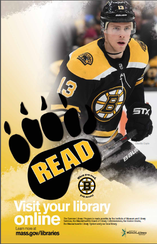 Bruins poster featuring Charlie Coyle