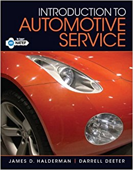 Automotive service textbook