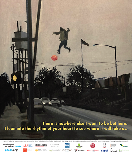 Poetry month poster