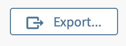Web of Science Export button