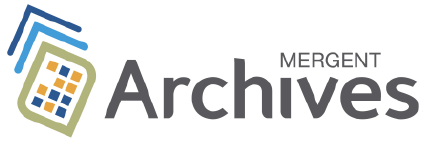 Connect to Mergent Archives