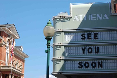 The Athena Cinema in Athens, OH
