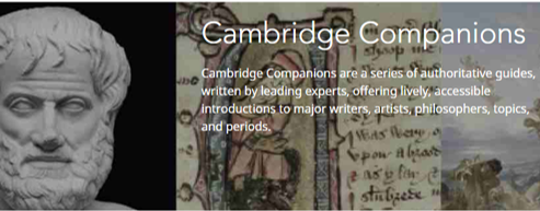 Cambridge Companions database logo