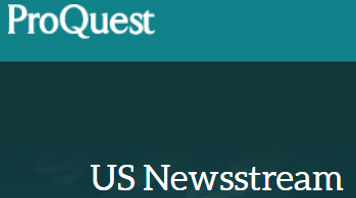 Homepage of ProQuest US Newsstream database