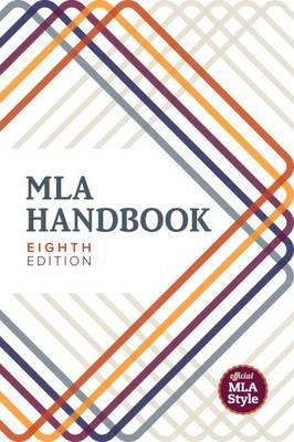 Cover of MLA 8th handbook