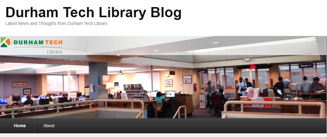 Durham Tech Library Blog
