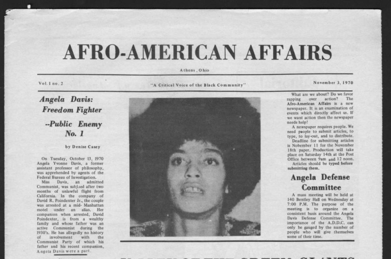 Afro-American Affairs for November 3, 1970