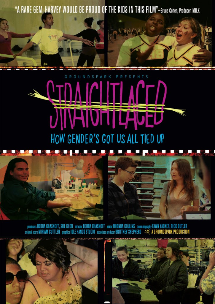 Poster/cover image for the film, featuring people in various poses: talking, dancing, working, cheerleading, dancing