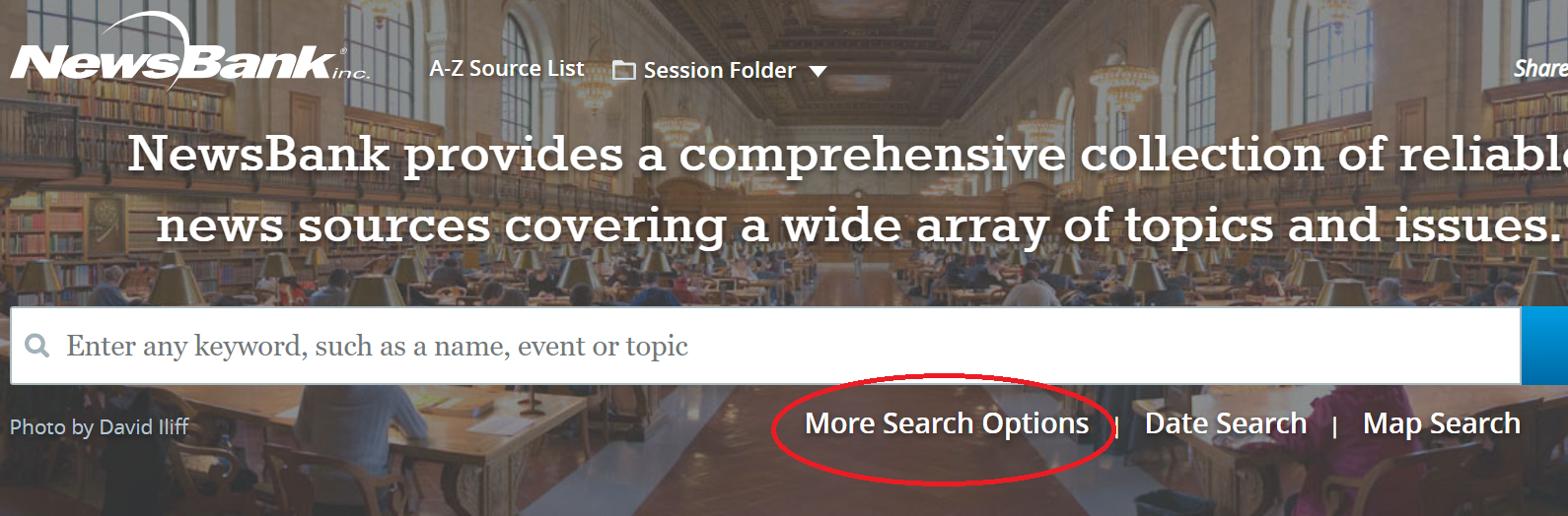Access World News - Select More Search Options for advanced search page