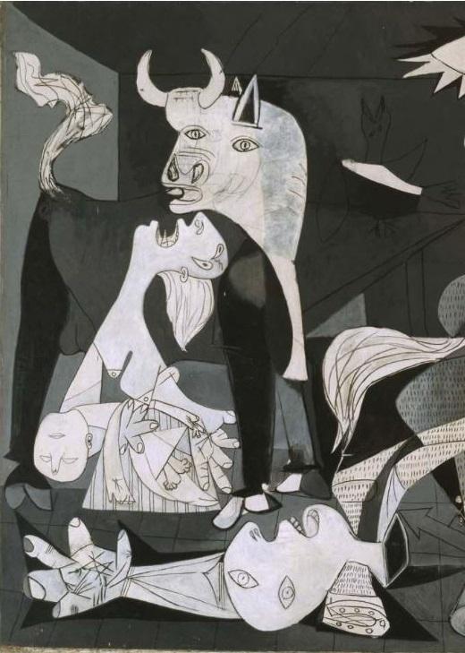 Pablo Picasso. Guernica. 1937.