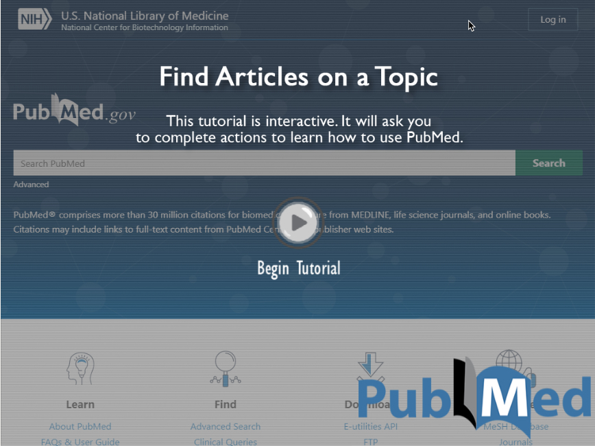 Find Articles on a Topic: Interactive Tutorial