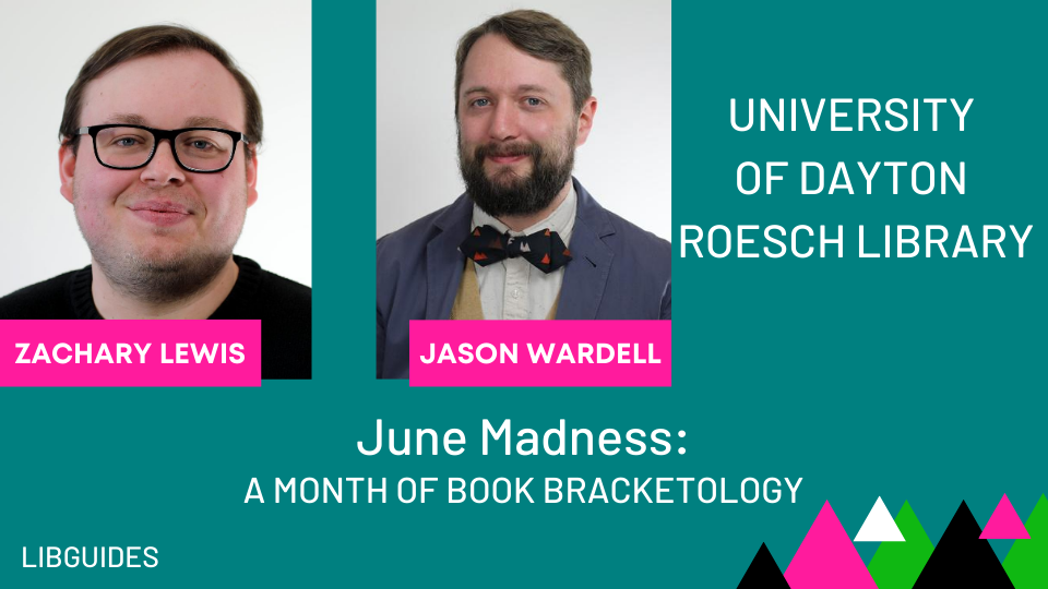 June Madness: A Month of Book Bracketology