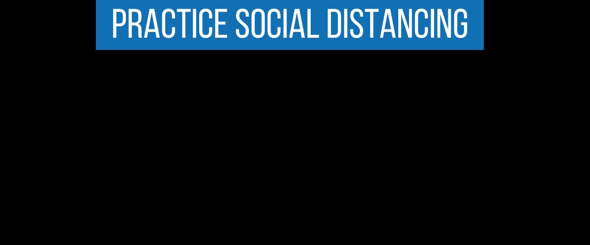 Social Distance Dog Leash