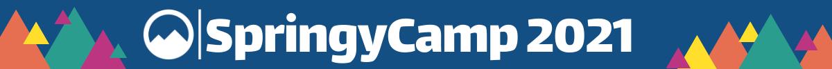 SpringyCamp 2021 Banner
