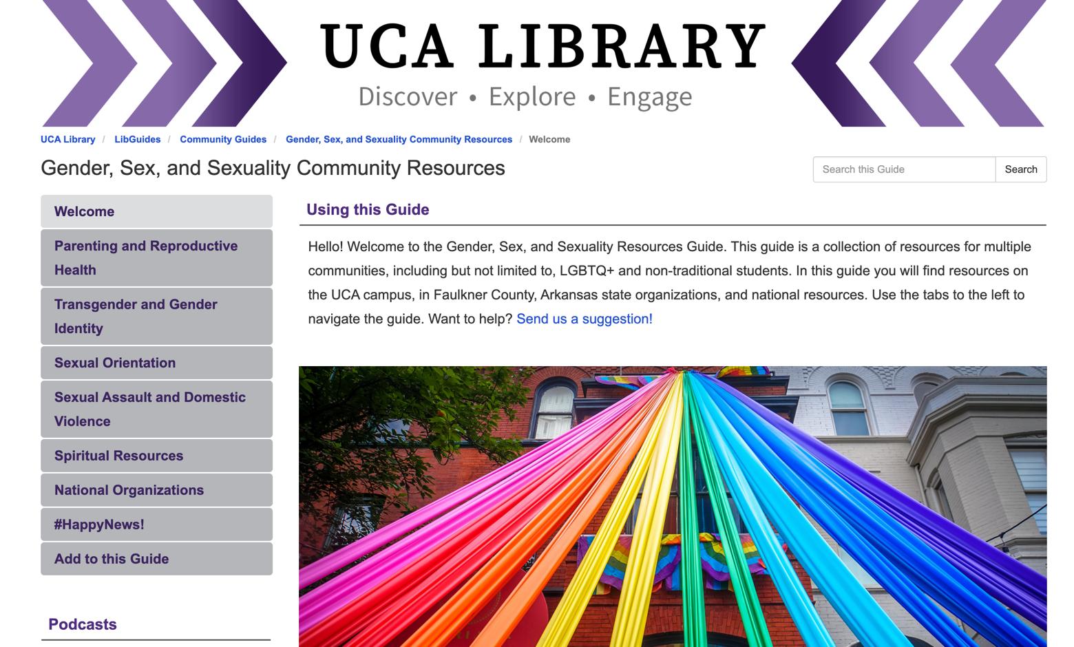 UCA LGBTQ LibGuide