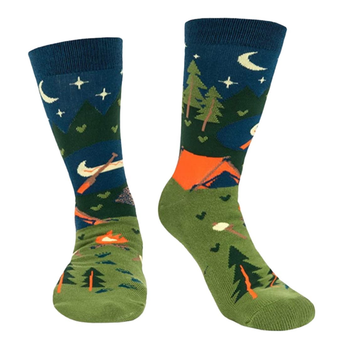 Win a pair of SpringyCamp socks!