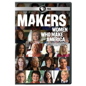 Makers: women who make America DVD cover