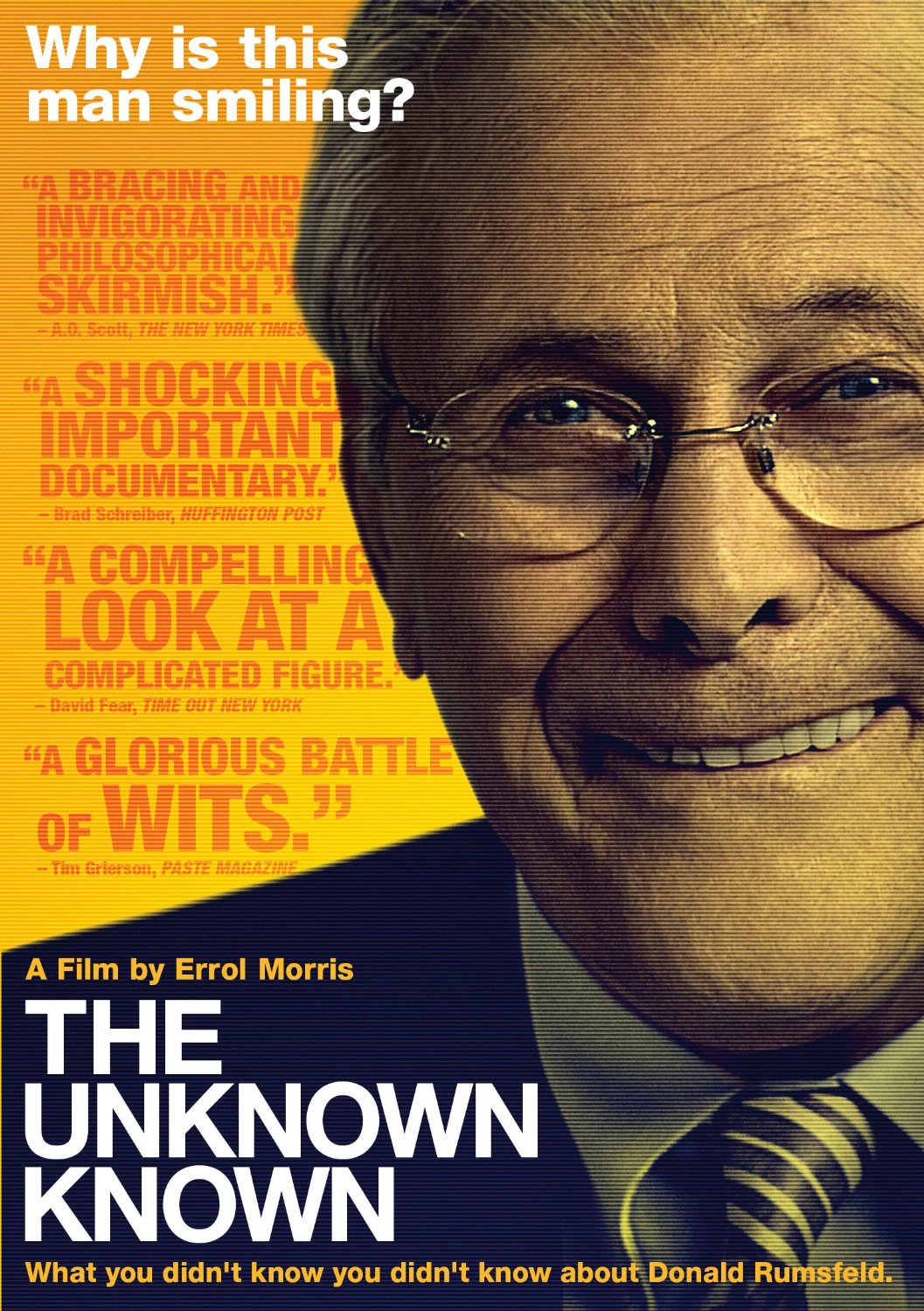 The Unknown Known DVD cover